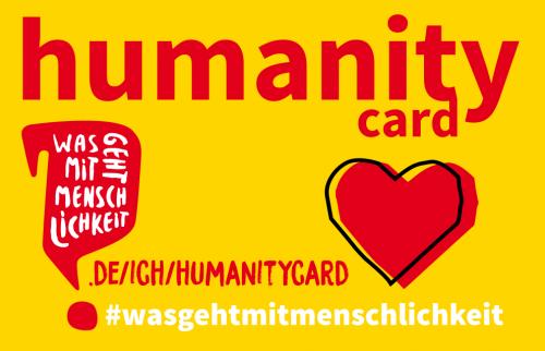 Die Humanity Card