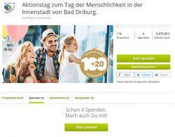 Spenden mal anders – Crowdfunding