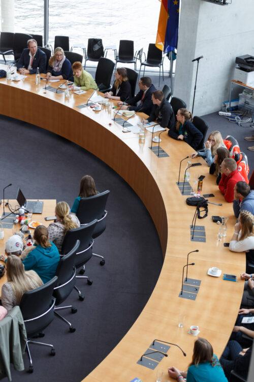 Im Deutschen Bundestag - Jugendkonferenz 2019 in Berlin