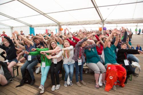 Teilnehmende des Supercamps 2017 in Prora