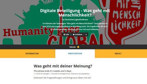 Digitale Beteiligung – JETZT