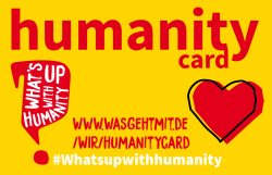 Humanity Card in English