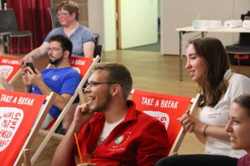 Teilnehmende der Jugendkonferenz 2018 in Nürnberg
