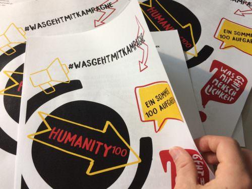 #humanity100: Ein Sommer, 100 Aufgaben