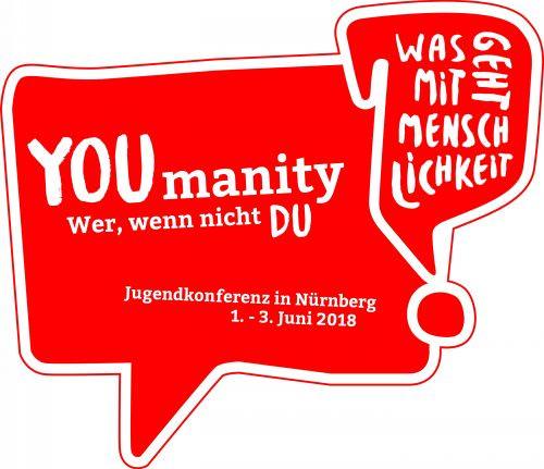 Das offizielle Logo der Jugendkonferenz - vielen Dank an Morian Müller dafür!